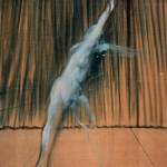 Francis Bacon, Sans titre (Figure au bras levé, 1949 c.)