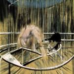 Francis Bacon, Étude pour un nu accroupi (1952)