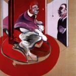 Francis Bacon, Étude pour le pape rouge 1962 (1971)