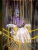 le dispositif rideau-miroir des trois tableaux