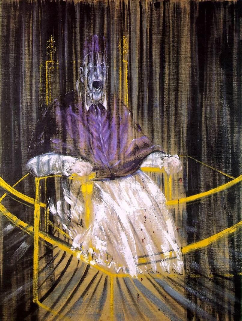 1953_Study after Velazquez's Portrait of Pope Innocent X